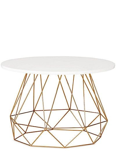 Lena Copper Coffee Table M S Muebles Modernos Muebles Salas