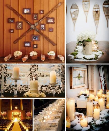 Chic Ski Themed Wedding From Beau Coup Weddings Winter And