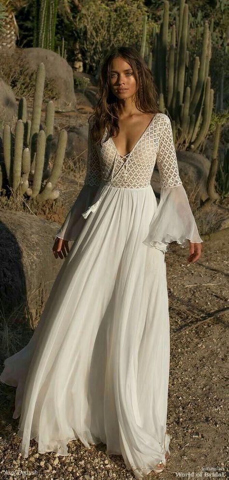Vestiti Da Sposa Zingara.Bohemian Causal Vestiti Abiti Da Sposa Bianchi E Maxi Vestiti
