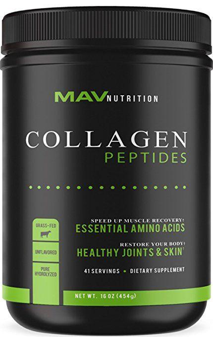 Premium Collagen Peptides 16oz Pasture Raised Grass Fed Paleo Friendly 100 All Natural Non Gmo Collagen Peptides Proper Nutrition Nutrition