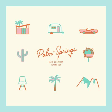 Summer Inspired Icons