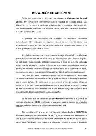 Manual De Mantenimiento De Pc In 2020