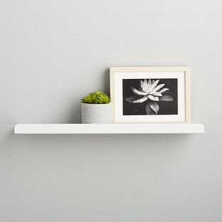 Umbra White Simple Ledge Wall Shelf Small Wall Shelf Wall