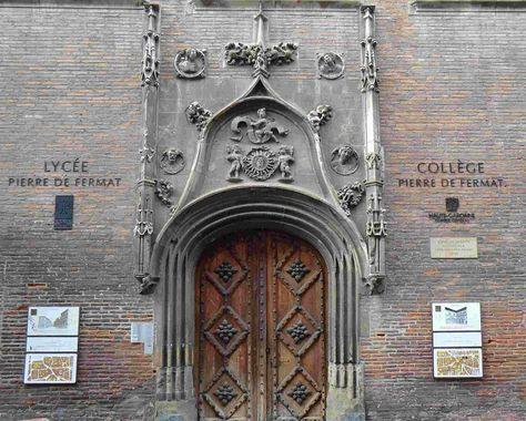 Hôtel de Bernuy (Lycée Pierre de Fermat),Toulouse.