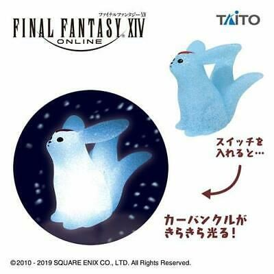 TAITO Final Fantasy XIV Carbuncle Room Light Lamp FF 14 Figure Figurine Emerald