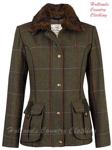 Arunia Ladies Tweed Jacket in Clevland Tweed | Great Fashion Pics ...