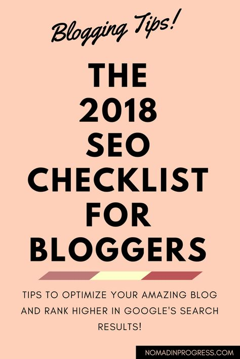 A simple guide to SEO for bloggers. Learn how to optimize your blog!