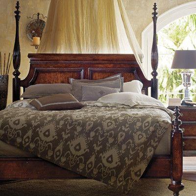 The Classic Portfolio British Colonial Four Poster Bedroom