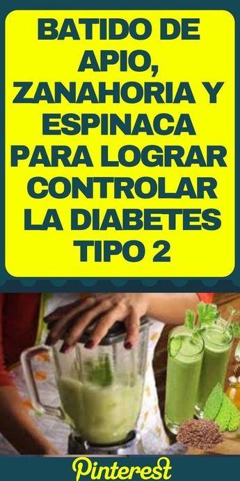 jugos para diabetes tipo 2