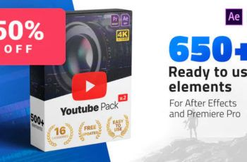 Download Youtube Pack V2 Free Videohive In 2020 Videohive