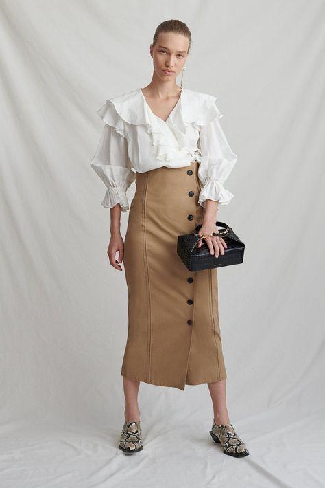 Scout Camel Skirt