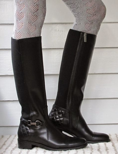 I need this blog. It's all about tall boots for skinny