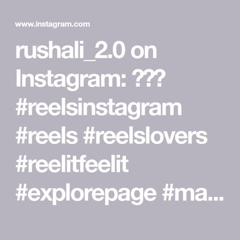 rushali_2.0 on Instagram: 💙🦋💙 #reelsinstagram #reels #reelslovers #reelitfeelit #explorepage #makeupbyme #fyp #trending