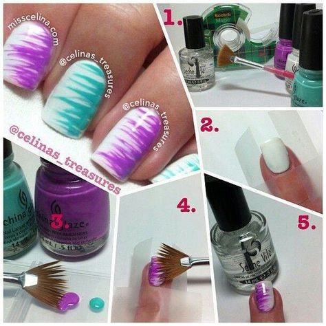 What a cool idea!! - http://yournailart.com/what-a-cool-idea/ - #nails #nail_art…