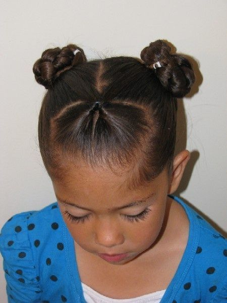 Simple Curly Mixed Race Hairstyles For Biracial Girls Baby
