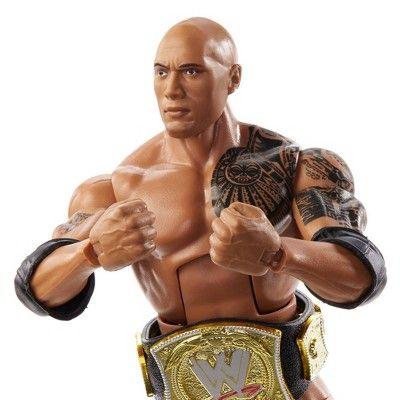 WWE Mattel Elite Royal Rumble The Rock Figure Target Exclusive IN HAND