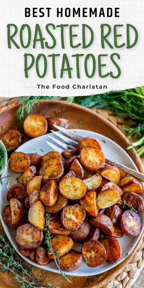 I love me a good crispy potato - and these are perfect! This recipe will have you coming back for more every time, trust me. They are so easy to put together and make a great side dish for almost any meal or even a great appetizer! Come visit The Food Charlatan for this recipe and more!