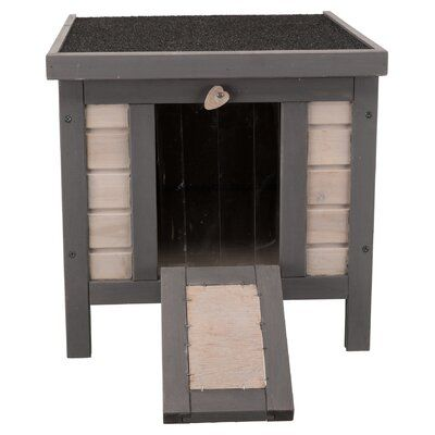 Tucker Murphy Pet Cosette Insulated Outdoor Cat House Wayfair Ca In 2020 Outdoor Cat House Cat House Outdoor Cats