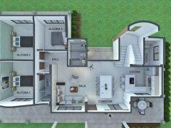 42+ Casas de 4 aguas ideas in 2021
