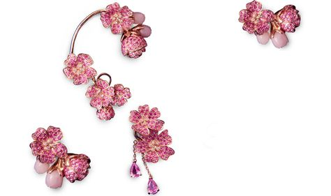 The Cherry Blossoms earrings by Morphee Joaillerie