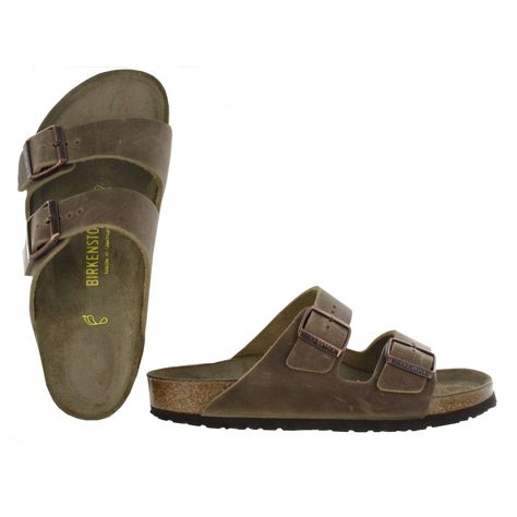 Birkenstock Women's ARIZONA tobacco 2 strap sandals 352201