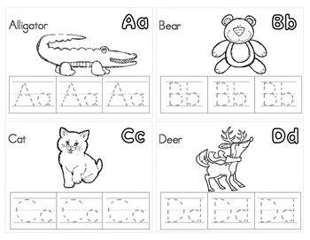 Zoo Phonics Friends Alphabet Mini Book Meet By Jen Wood Teachers Pay Teachers Zoo Phonics Alphabet Mini Book Phonics
