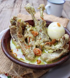 Resep Masakan Nusantara Opor Ayam Di 2020 Resep Resep Masakan Ayam