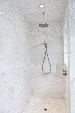 White Marble Shower Design Ideas Pictures Remodel And Decor Marble Showers Master Bathroom Modern Bathroom