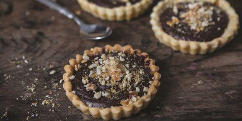 Chocolate and Peanut Ganache Tartelette Recipe - Great British Chefs