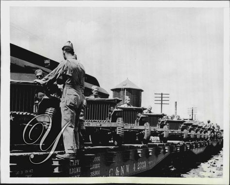 New US Army Jeeps Willy's MB Slat Grill Arrive in Tennessee - U.S. Army Signal Corps Photo - circa 9.14.1942