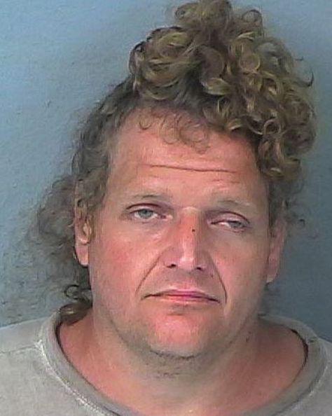 The Florida man bun.