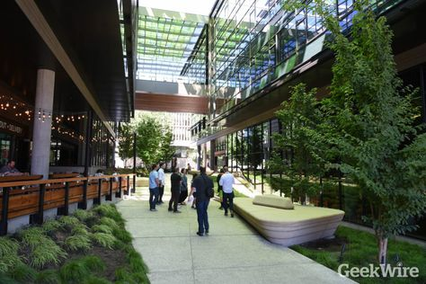 Image Result For Amazon Headquarters Interior Outdoor Decor