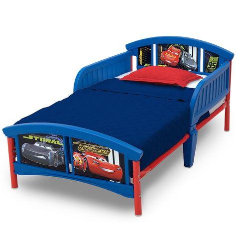 Disney Pixar Cars Toddler Bed By Delta Children Toddler Car