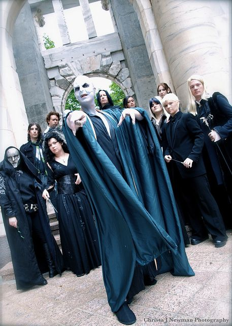 Harry Potter - Voldemort and Death Eaters cosplay
