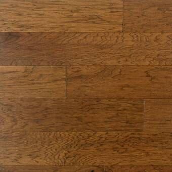 London Hickory 3 8 Thick X 7 1 2 Wide X Varying Length Engineered Hardwood Flooring In 2020 Solid Hardwood Floors Hardwood Floors Hickory Hardwood Floors