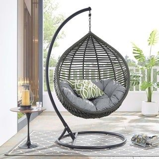 Overstock Com Online Shopping Bedding Furniture Electronics Jewelry Clothing More In 2020 Patio Swing Chair Swing Chair Outdoor Outdoor Patio Swing