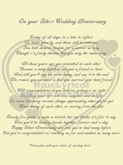 Fun 65th Wedding Anniversary Wording Wedding Anniversary Poems Wedding Anniversary Words Anniversary Poems