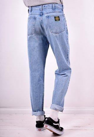 b9529a0509 STONE ISLAND MENS VINTAGE JEANS W30 L32 BLUE 90'S | Fashion in 2019 ...