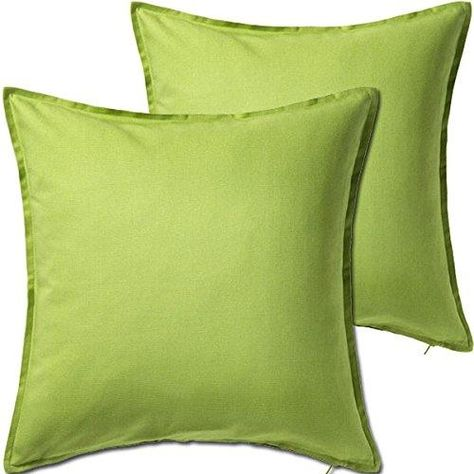 2 Pack Solid Red Decorative Throw Cushion Pillow Cover Cushion Sleeve For 20 X 20 Insert 100 Percent Cotton Throw Cushions Green Cushion Covers Red Cushion Covers