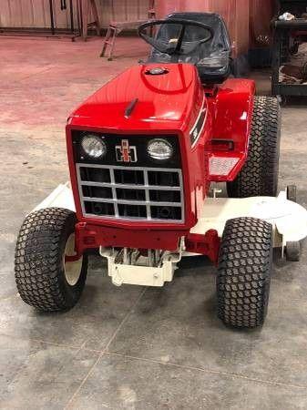 International Yard Tractors Old Farm Equipment Lawn Tractor
