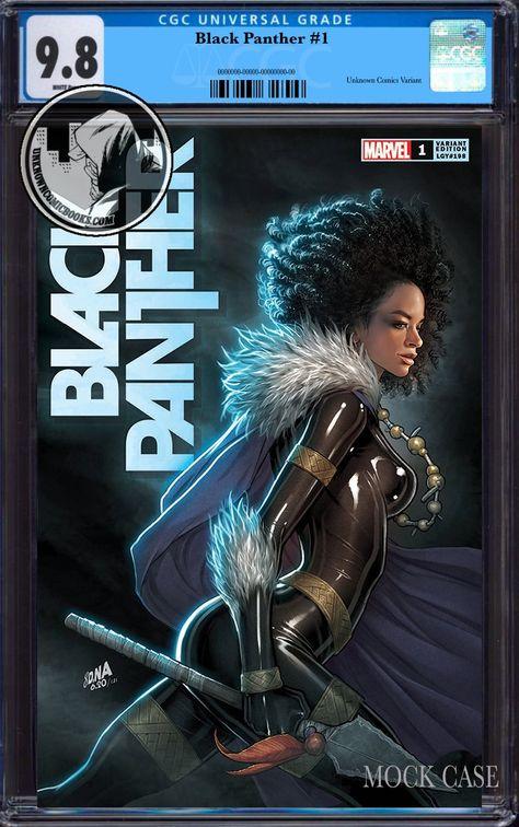 BLACK PANTHER #1 UNKNOWN COMICS DAVID NAKAYAMA EXCLUSIVE VAR CGC 9.8 BLUE LABEL (02/23/2022)