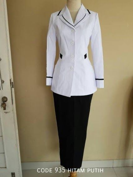 Model Baju Dinas Pns Wanita Berjilbab