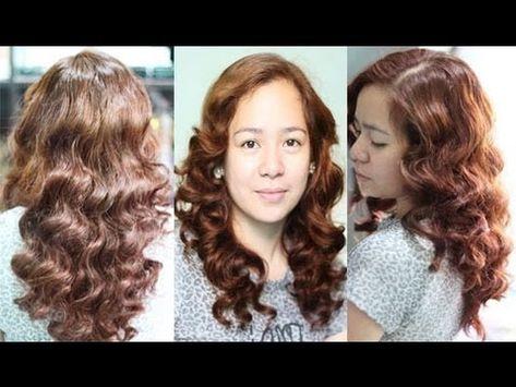 No Heat Car Sponge Curls For Layered Hair- Inspired Heatless Margaux Curls Ina Kapatid Anak