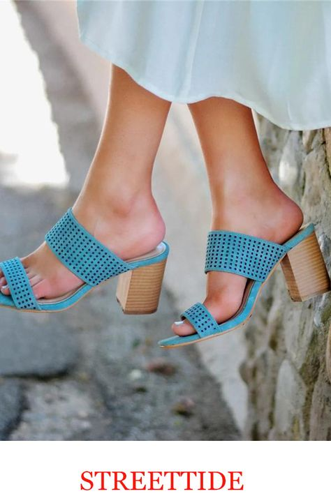 Plus Size Women Multi Strap Heeled Sandals sandals heels