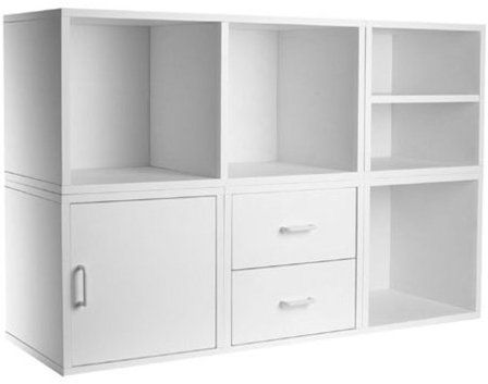 Amazon Com Foremost 340001 Modular 5 In 1 Shelf Cube Storage