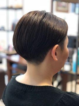 2020年春 お客様スタイル40代女性ツーブロック刈り上げショート 宮下担当のヘアスタイル Biglobe Beauty ヘアスタイリング ヘアスタイル ツーブロック 刈り上げ