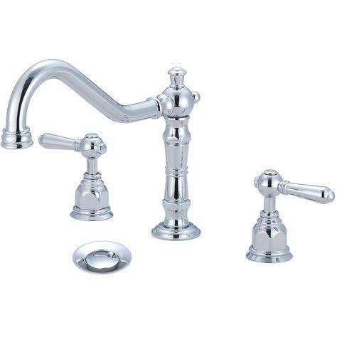 Pioneer Faucets American 8 In Widespread 2 Handle Bathroom Faucet