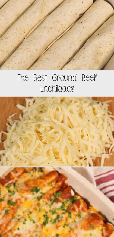 These are the best Ground Beef Enchiladas!  They are ready in about 30 minutes and my family goes crazy for them every time. #itisakeeper #recipe #recipes #easyrecipe #quickrecipe #dinner #groundbeef #freezermeal #freezerfriendly #makeahead #mexicanrecipe #CheapMeatrecipes #DeerMeatrecipes #InstapotMeatrecipes #MeatrecipesOven #StirFryMeatrecipes #foodrecipescheap