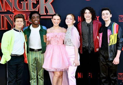 Stranger Things Cast attends the premiere of Stranger Things Season 3