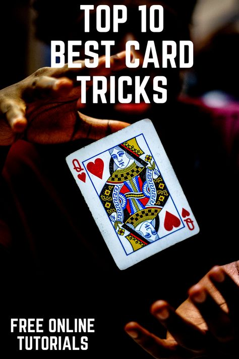 learn best card magic tricks  free tutorials easy to